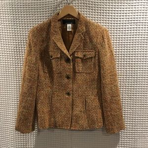 Jones New York tweed jacket